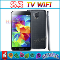 GSM850 Thai not smart phone  S5 WIFI 5.0 inch dual camera Dual sim card FM Bluetooth JAVA Ebook MD1216