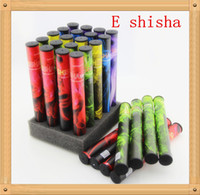 Electronic Cigarette disposable e shisha black New E shisha pen e-shisha disposable e cigarette E hookah pen disposable electronic cigarette with 500 puffs best price!