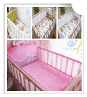 Cheap Unisex Baby Bedding Sets Best Four pieces Above Cribs Bedding materials baby