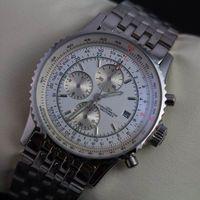 best designer watches for men - Luxury Designer Mens Stainless Steel Swiss Best Brands Face Stopwatch Wrist watches For Men Sports Quartz Chronograph Watches Man Dive