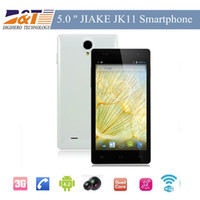 WCDMA Thai Android Quad Core JIAKE JK11 MTK6582 5.0 Inch 960 x 540 pixels Screen Android 4.2 Smart Phone 8.0MP Camera 3G GPS Bluetooth