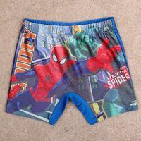 Boy Swim Trunks 2T-3T 2014 nova baby boy swimwear cartoon spiderman swimming trunks boy swimming short competitive swimwear Q4782