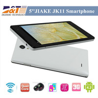 WCDMA Thai Android 2pcs lot Quad Core JIAKE JK11 MTK6582 5.0 Inch 960 x 540 pixels Screen Android 4.2 Smart Phone 8.0MP Camera 3G GPS Bluetooth