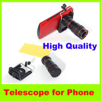 8x digital zoom - 8x Phone Telescope outdoor Travel essential camera Telescope Boutique Digital Optical Zoom Lens Telescope Universal Mobile Phone Telescope H