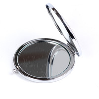 Wholesale Mirror Makeup Blank Compact Mirror Portable Pocket Cosmetic Hand Salon Openwork Carving Surface Mirror