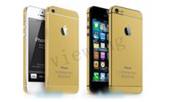 Wholesale For iPhone s s decal sticker Full Body Wrap Decal Sticker colorful DHL free