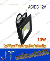 LED ac dc case - 12V AC DC W Warm White floodlight LED Flood Light Outdoor Lights black case High Power IP65 MYY945