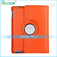 Folding Folio Case 7'' OEM CHEAP-multi color Rotate 360 degrees Rotating cover leather case stand holder for Apple IPAD 2 3 4 5 MINI IPAD MID tablet pc