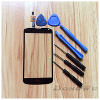 For LG Google Nexus 4 E960 nexus 4 - Black Replacement Touch Screen Glass Digitizer Lens for LG Google Nexus E960 Tools