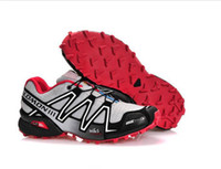 Wholesale Los salomon Solomon covered three generations of outdoor shoes waterproof movement cross country running shoes ventilation in summer