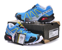 Wholesale Los salomon Solomon covered three generations of outdoor shoes waterproof movement cross country running shoes ventilation in summer pair