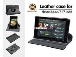 New 360 Degree Rotating Stand Case Cover Skin for For Google Nexus 7 1st Gen