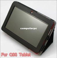 Protective Shell/Skin apple supplies - Hot selling New inch Protective Leather case for Q88 Tablet Lower price supply