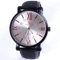 Sport Men's Water Resistant Wholesale Newest Japan Movement Fashion Brand Watch watch men sport Big Dial Quartz Roman Number WristWatches Free Shipping