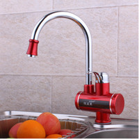 best kitchen faucets - best sell single handle brass electric kitchen faucet