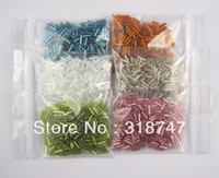 Bead Caps 028024001 Glass Free Shipping!! 2*6MM 60G Colorful Czech Glass Seed Beads Jewelry Accessories 028024001