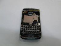 For Blackberry bb 9700 - Hot sale Original New Full Housing Cover Case For BB black amp white with keypad