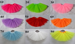 Wholesale Faster shipping New arrival girls skirt dress kids baby bubble skirt girl tutu skirts children pettiskirt clothes
