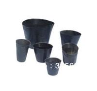 Nursery Pots pots - 100 Nursery Pots Seedling raising Pan Nutrition cup nutrition bowl Size cm cm Garden Supplies