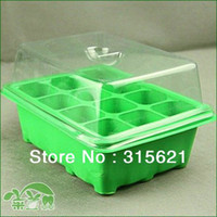 Wholesale 12 holes Seedling box germinating box nursery trays Insulation moisture transmission cm