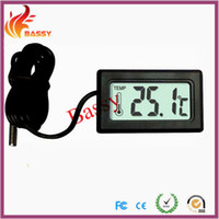 Wholesale Embedded Thermometer Refrigerator Thermometer Cigar Tank Thermometer Fish Tank Thermometer Model A