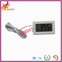 Wholesale Pets Thermometer Embedded Thermometer Refrigerator Thermometer Cigar Tank Thermometer Fish Tank Thermometer Model A