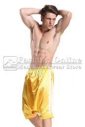 Wholesale A Fashion Online Sexy Men s Underwear Store Culottes Derlook Capris Harem Lounge Pants Crotchless Casual Loungwear Sleep Bottom