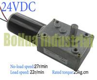 Wholesale Best seller V rpm Worm gear motors DC motors long tail shaft Dual output shaft robot competition