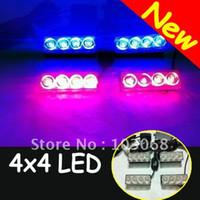 Tail light Assembly 2012 HX-JU-0801 2013New 4x4 LED Emergency Strobe Light Bar Warning cauting light Car Truck Firemen lamp daytime running light LED Free Shipping