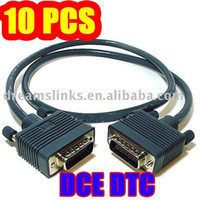 Wholesale 10PCS New DB60 Back to Back DCE DTE Crossover Cable WIC T FT For Cisco