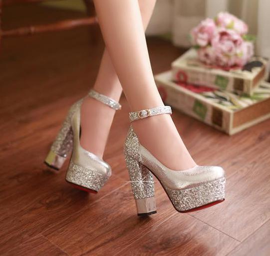 Mid-heels Women's Shoes Ladies 2015 European Shoes 5cm Woman Women