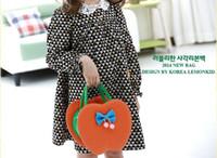 Girl authentic handbags wholesale - Korean version of the authentic hand bag handbag shoulder bag Children Baby Messenger Bag