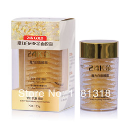 Wholesale XIANGNI K Gold Sleep Mask ml Treatment Anti Aging Wrinkle Face Lifting Firming Whitening Moisturizing face care face mask