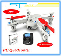 Wholesale Hubsan X4 H107D FPV RC Quadcopter camera LCD Transmitter drone Live Video Audio Streaming Recording Helicopter Drop Shipping