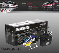 Wholesale KDS QS INNOVA rc Helicopter CH G Plastic FG D remote control RTF Helicopter w KDS820 KDS450QS Gyro EMS
