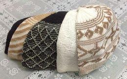 Wholesale Hot sale Islamic Turkish embroidery hat Arabic muslim prayer cap