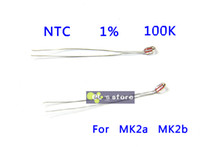Yes Low Power Other 50Pcs lot 100K ohm 1% NTC 3950 Thermistors for 3D Printer Reprap Mend For 3D Printer MK2a MK2b