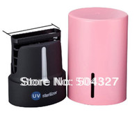 Wholesale EMS UV Portable Automatic Phone Sterilizer UV Mobile Phone Disinfector for iphone S