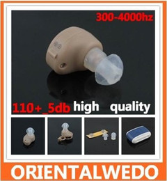 Wholesale Best Sound Amplifier Adjustable Tone Hearing Aid Aids New Frequency range HzBrand new and high quality