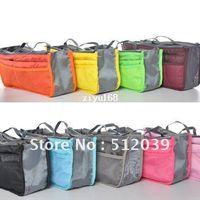 Wholesale Big Discount Colors Mp3 Phone Cosmetic Storage Organizer Nylon Bag In Bag Handbag Girl Women Mix Color Make Up Bags