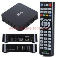 Dual Core Included 1080P (Full-HD) 1pcs XBMC Installed MX2 CS838 4.2 OS Android Smart TV BOX Dual Core MX Media Player Amlogic 8726 Cortex A9 M6 MX1 MKV 3D 1080P