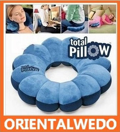 Wholesale New The Total Pillow in Amazing Versatile Neck Plum Flower Comforts Soft Pillow Neck Protection Massager new