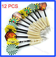 Wholesale Steel Needle Tip Copper Dart Darts With Nice Flight Flights Throwing Toy