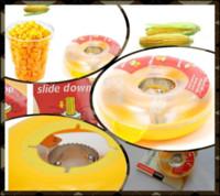 Wholesale 200Pcs Cheap Kitchen Detachable One Step Corn Kerneler Peeler T329