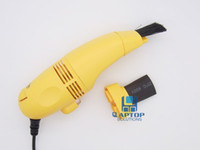 Wholesale USB Mini Vacuum Keyboard Cleaner Dust Wiper for PC Laptop Computer Cleaning Yellow Blue Black
