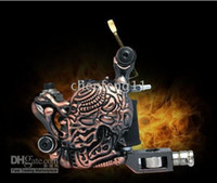 Wholesale Best Novelty Skull Gun Tattoos Empaistic Tattoo Machine Supply For Both Liner amp amp Shader