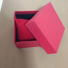 Drop Shipping ,Retail Package Paper Gift Watch Box Red (Don't Sell Separate )