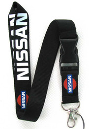 Wholesale hot sale new 30pcs NISSAN Cars Logo lanyard Neck Strap Employee's card hanging rope Lanyard