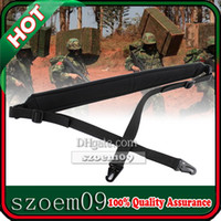 Wholesale 2 Point Padded Adjustable W HK Style Clip Snap Hook Strap Outdoor Tactical Heavy Duty Rifle Gun Sling