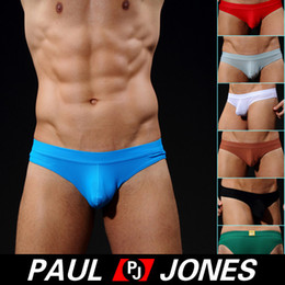 Wholesale Sexy Men Small Breathe Holes Bikini Style Underwear briefs Size S XL CL5503